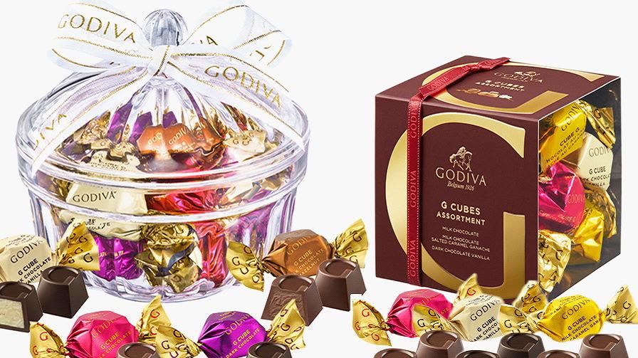 誕生日プレゼント・ゴディバのチョコレート・pc用