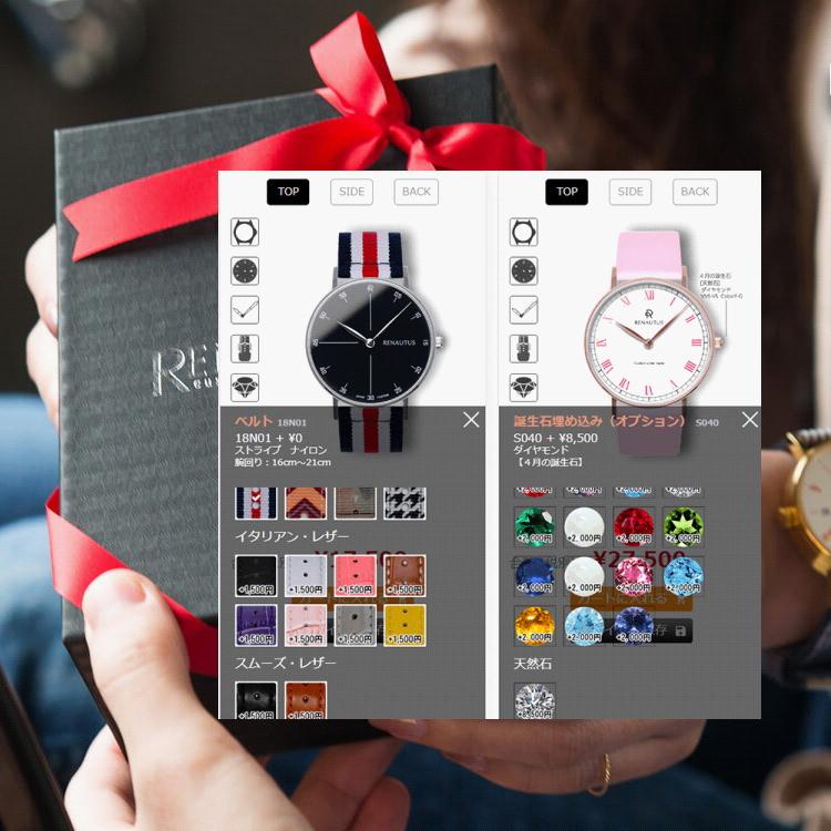 世界に一つの誕生日プレゼント・オーダーメイド腕時計・スマホ用