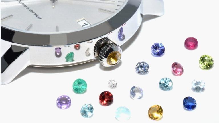 オーダーメイド腕時計の有料オプション